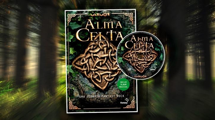 "Livro ""Alma Celta""."