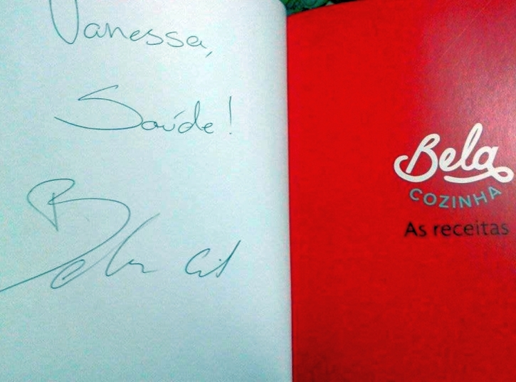 O autógrafo da Bela