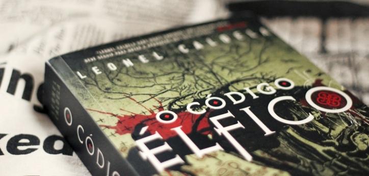 """Livro """"O Código Élfico"""", faz parte da """"Trilogia da Tormenta""""."""