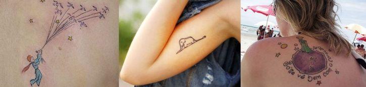 tatuagem pequeno principe
