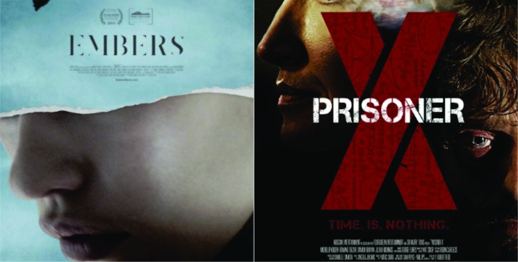 cartaz filmes Apagados e Prisioneiro X