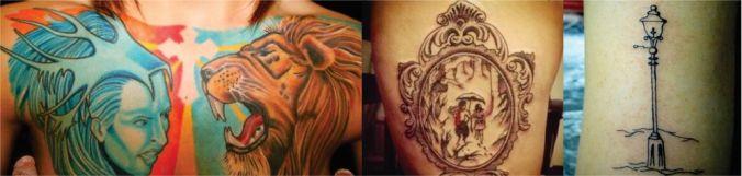 crônicas de Nárnia tattoo
