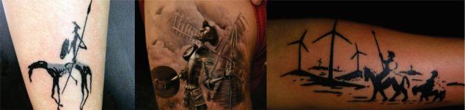 Dom Quixote tattoo